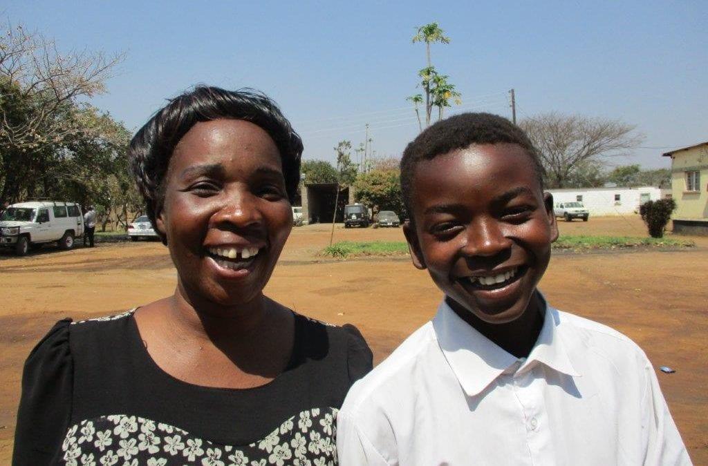 Educators at Tikondane, Zambia