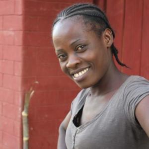 Ennie Chali is a popular figure at Tikondane, Zambia