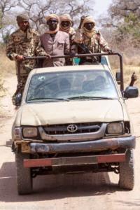 Anti-poaching unit, Zakouma National Park, Chad