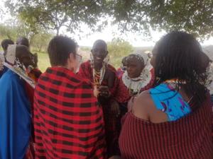 Masaai women, Tanzania