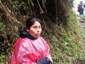 Female tourist guides in Peru